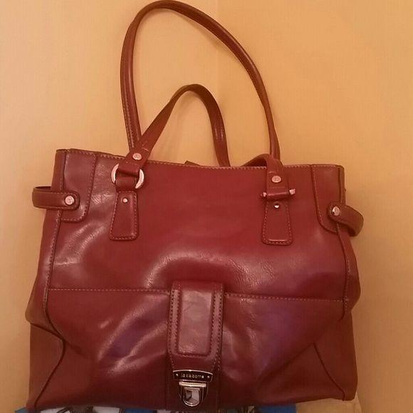 Liz Claiborne Handbag Wine/burgundy Liz Claiborne handbag Liz Claiborne Bags