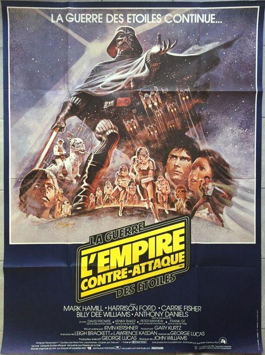 Vintage Japanese Empire Strikes Back Star Wars Movie Poster Print A3//A4