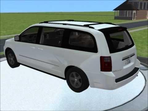 2009 Dodge Grand Caravan Sxt 8 2 Recolours 7 500 Simoleans 17 885