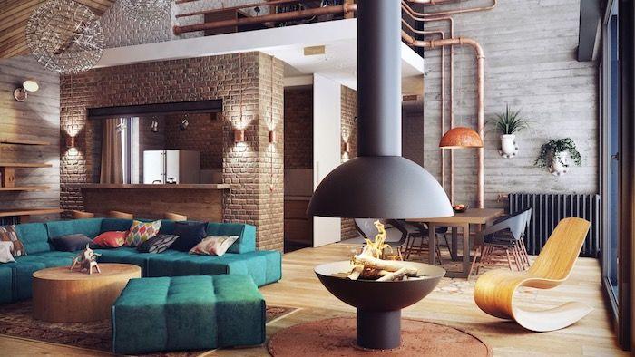 ▷ 1001 + astuces et idées pour aménager le salon industriel parfait ...