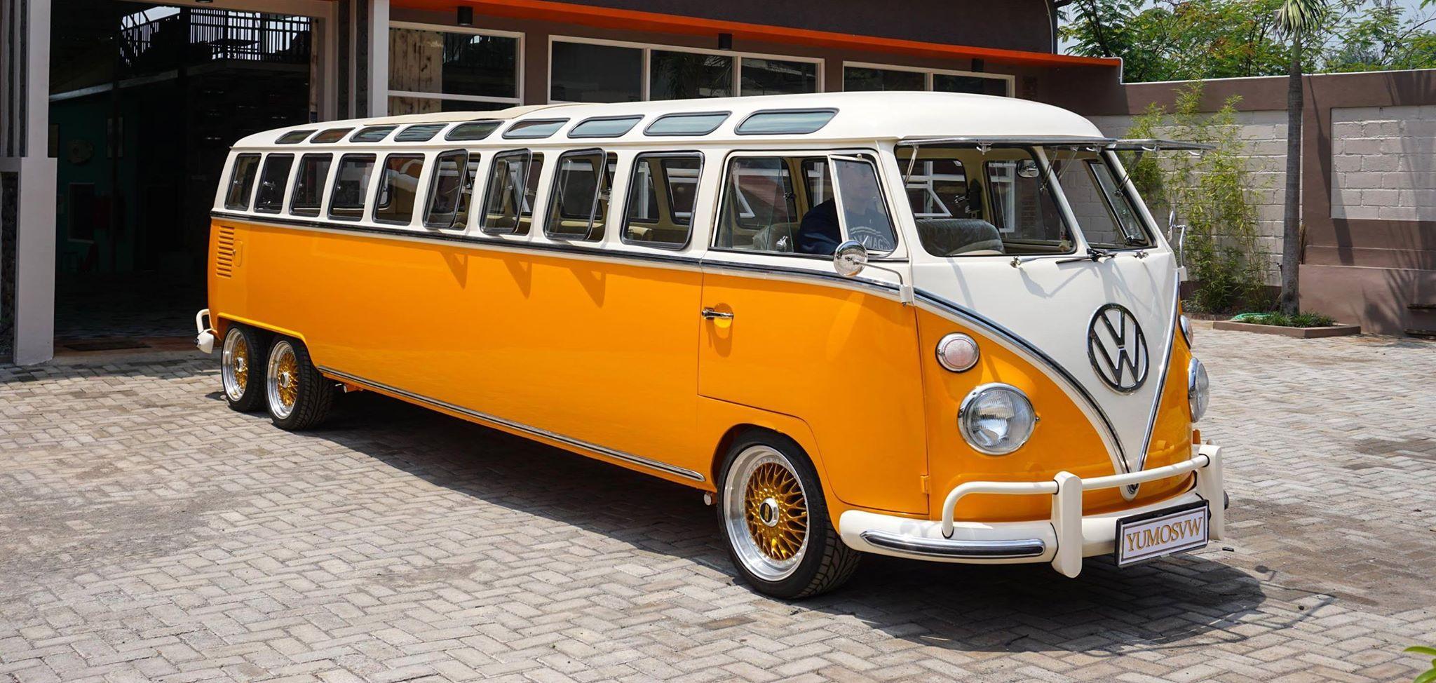 t1 vw samba bus 39 39 limousine 39 39 vw bus model t1 and t2. Black Bedroom Furniture Sets. Home Design Ideas