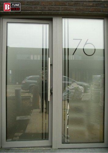raamfolie, glasfolie, matte folie, grijze folie, decoratiefolie - folie für badezimmerfenster