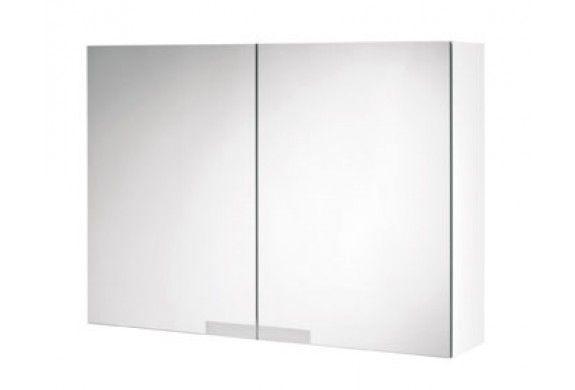Hoge Spiegelkast Badkamer : Tiger items spiegelkast cm hoogglans wit badkamer