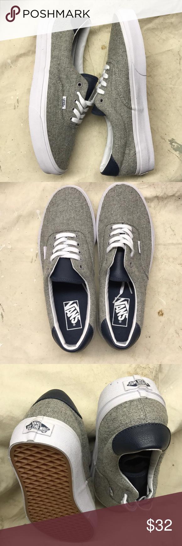 Vans Era VANS SHOES Style- Era 59 Color- varsity   grey wool 9927737b0c12