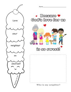 Image For Love Your Neighbor As Yourself Veggie Tales Coloring