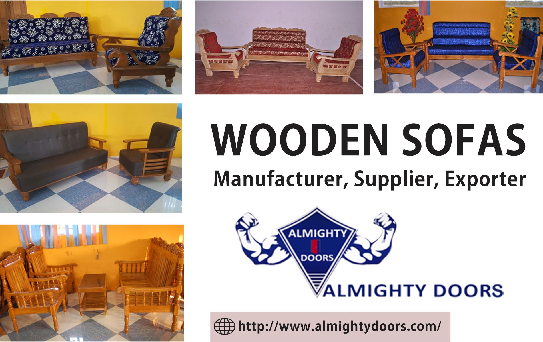 Wooden Sofas Manufacturer Seller Wholesaler Exporter Sofa Manufacturers Wooden Sofa Wooden Sofa Set
