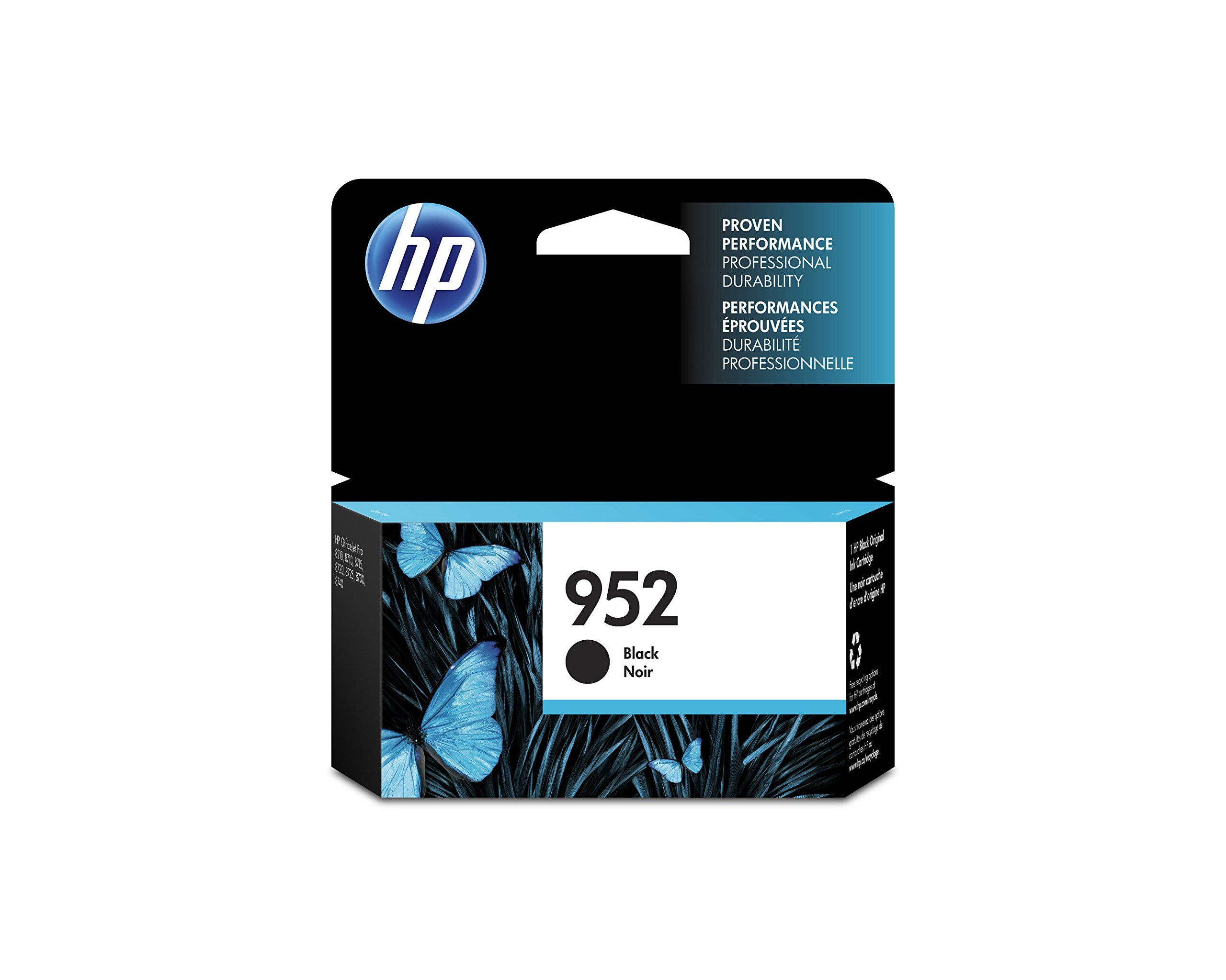 Hp 952 Black Original Ink Cartridge F6u15an For Hp Officejet Pro 7740 8702 8710 8715 8720 8725 8730 874 Printer Ink Cartridges Inkjet
