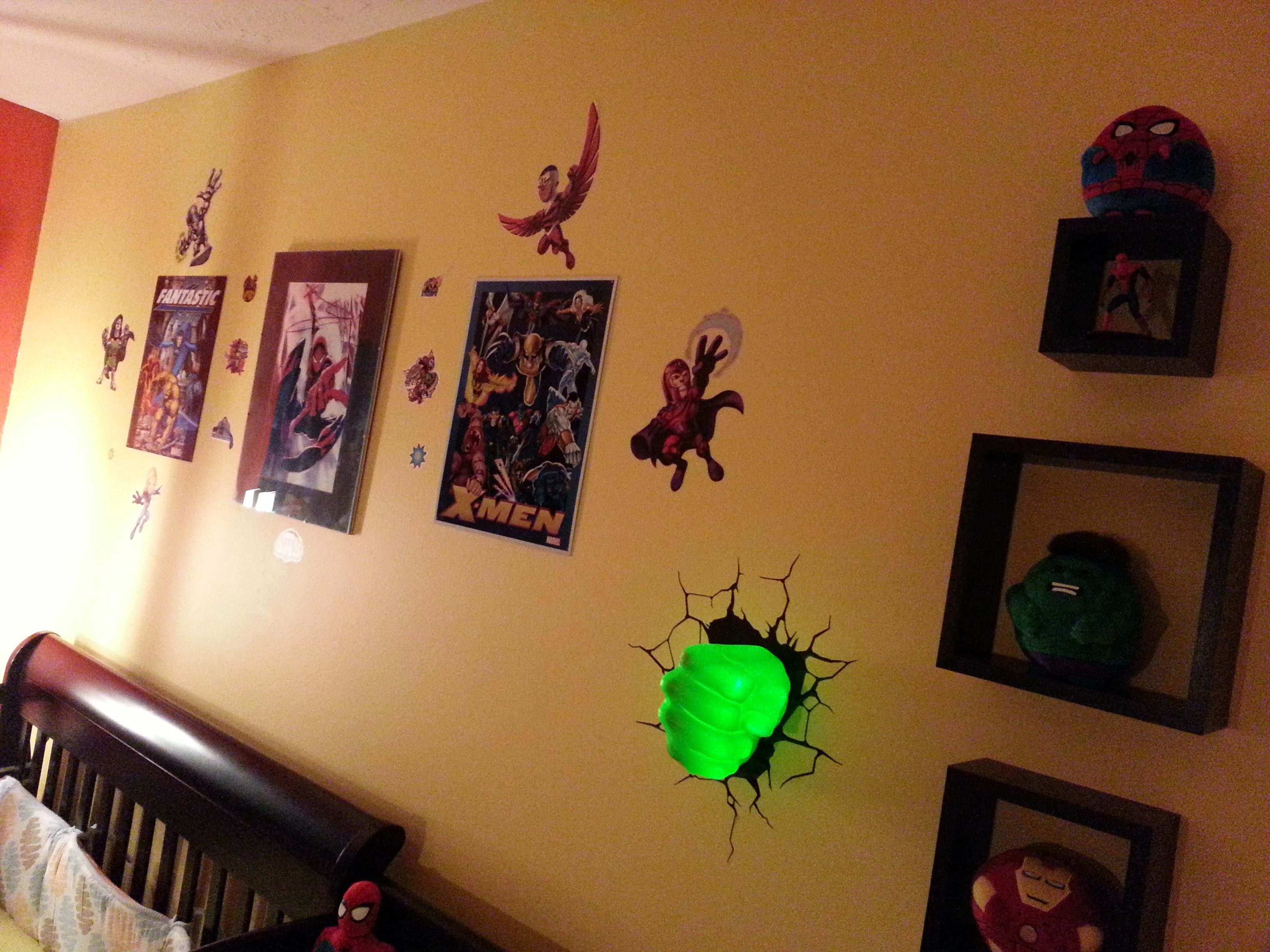 Night lights nursery - Hulk Fist Night Light