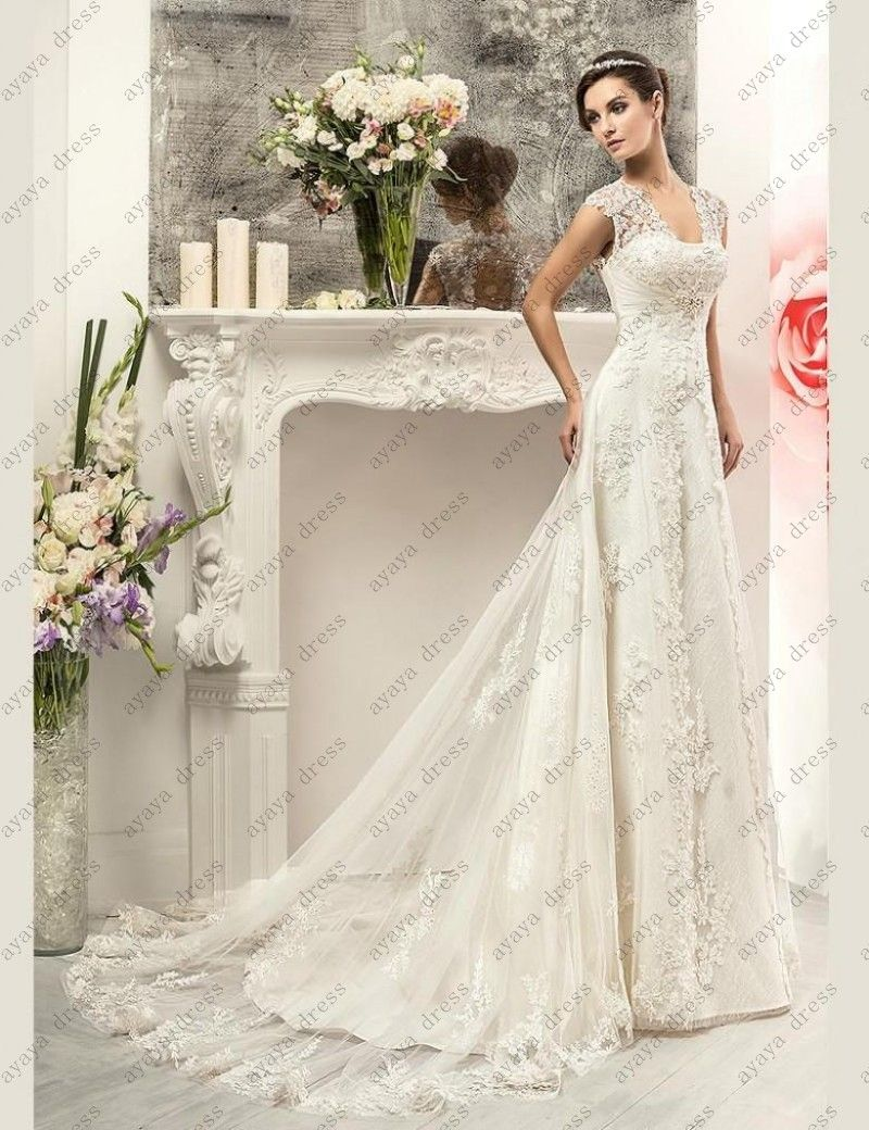 Click to buy ucuc wejanedress elegant mermaid wedding gown cheap