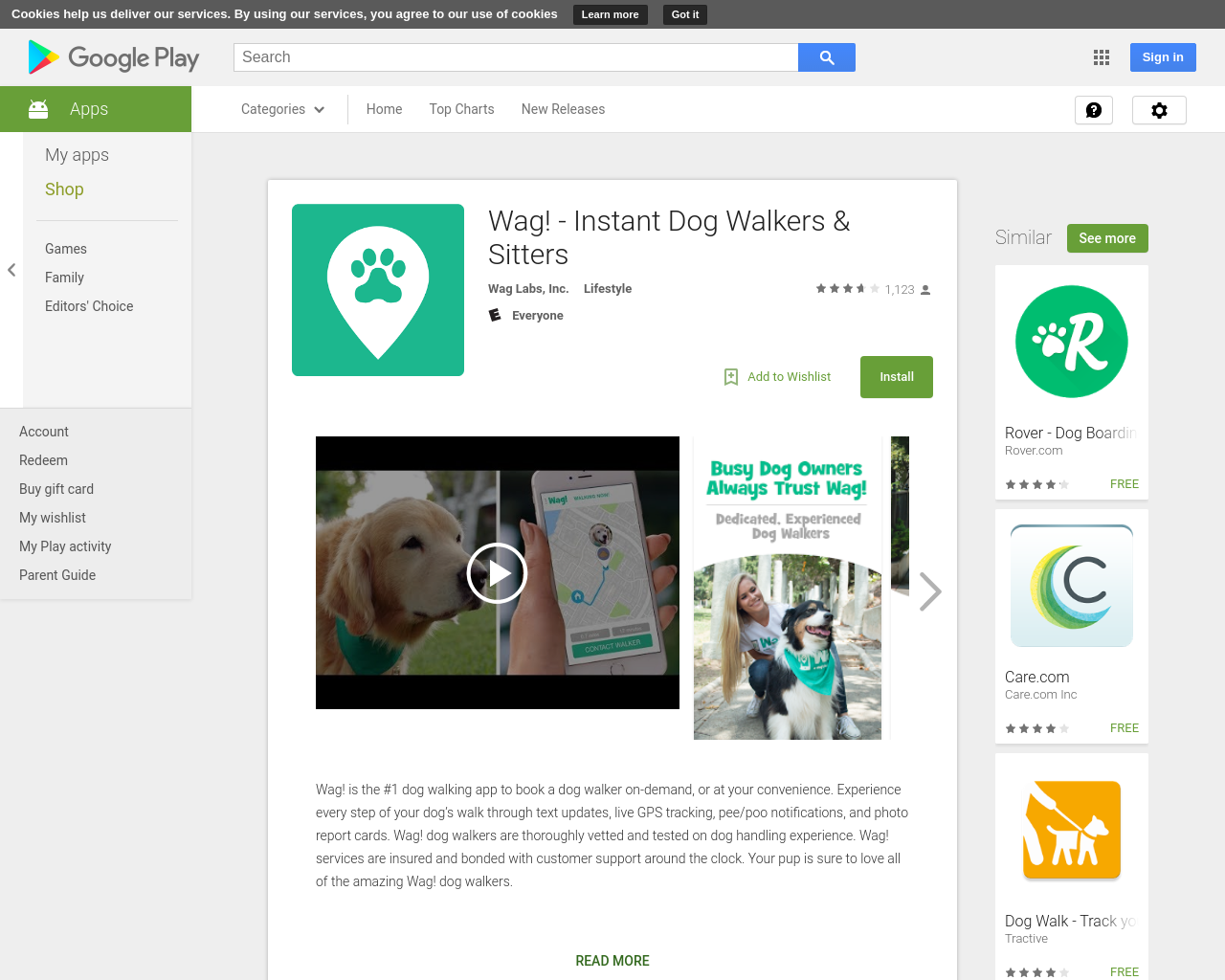 Wag! Instant Dog Walkers & Sitters Wag! is the 1 dog