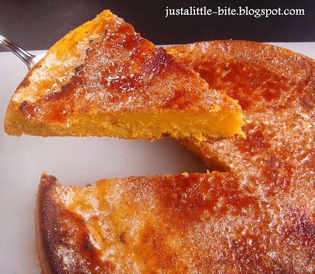 tarta de dulce boniato caramelizado @ justalittlebite