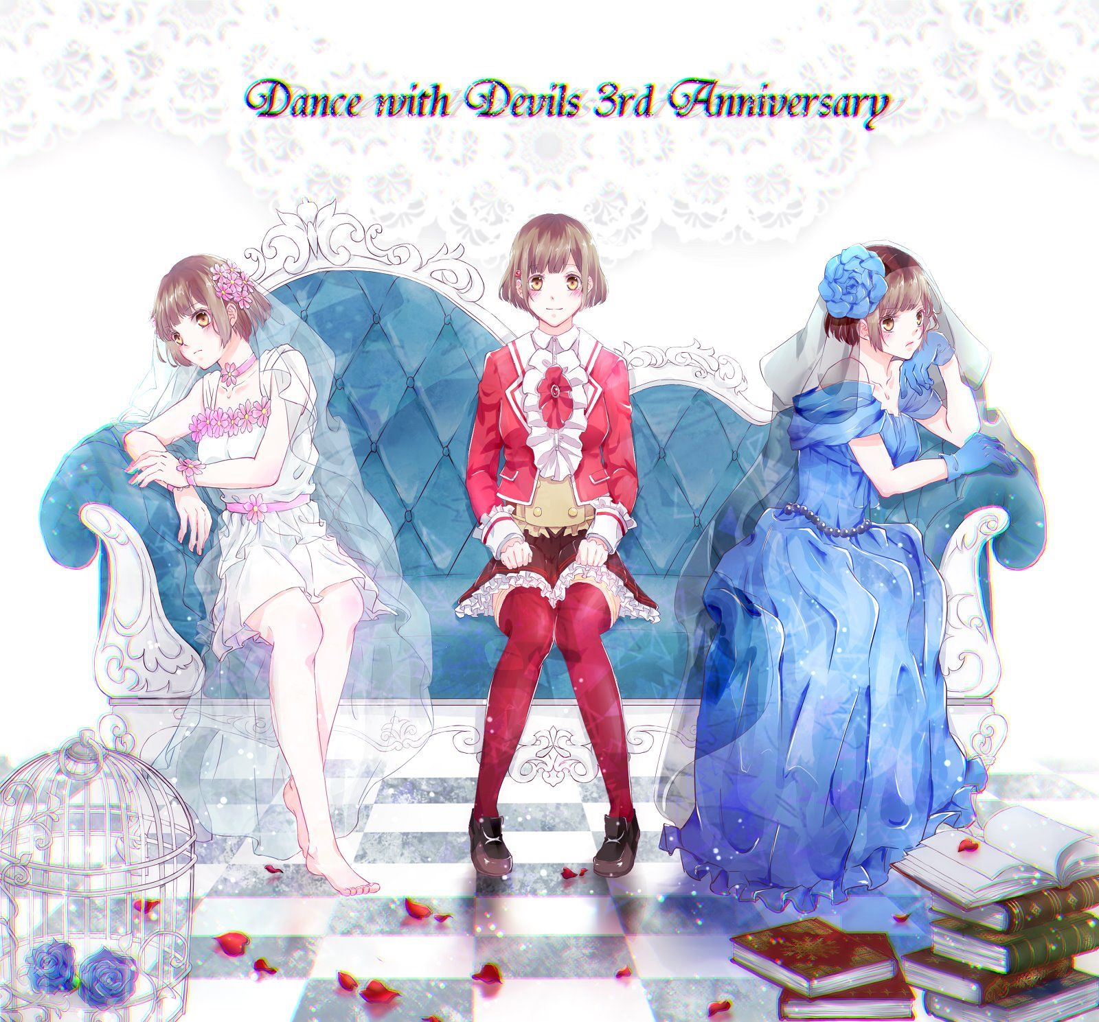 Pin by athena herrera on dance with devils anime