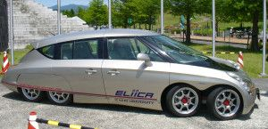 2004 Eliica Electric Car 8 Wheels
