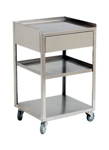 Undefined H11 Stainless Steel Cart Rolling Cart Provides Extra