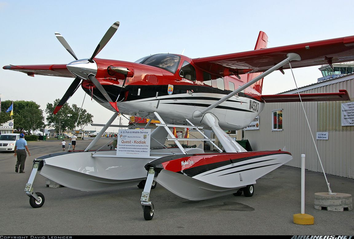 Quest Kodiak 100 US Fish and Wildlife Service Aviation