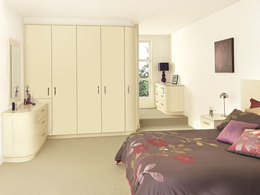 Curved Doors 1 Fitted Bedroom Furniture Fitted Bedrooms Furniture