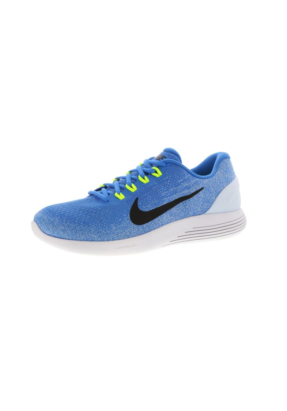 factory authentic 6077c 14dd5 ... reduced nike lunarglide 9 chaussures running pour homme bleu cdc57 00aed