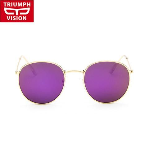 High Quality Affordable Vintage Metal Large Frame Women Sunglasses WDS