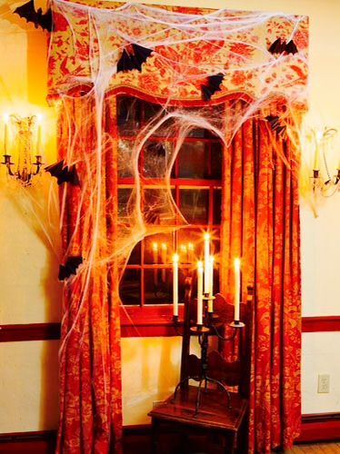 Great indoor Halloween decor HALLOWEEN DECOR, IDEAS, TREATS, PETS - halloween ideas party