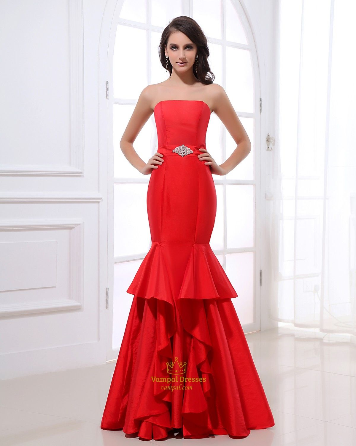 1000  images about Red Mermaid Prom Dresses on Pinterest - Formal ...