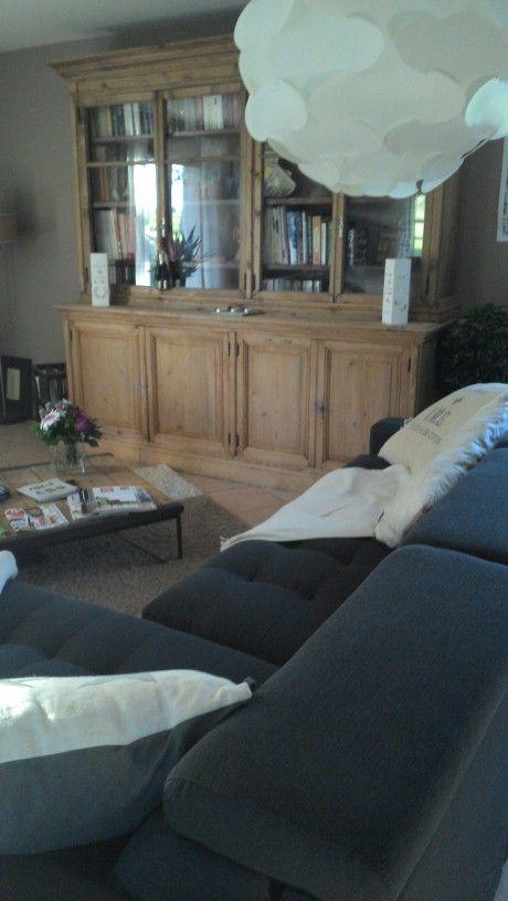 biblioth que sapin brocante corinne puces du canal lyon. Black Bedroom Furniture Sets. Home Design Ideas