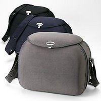 Grey Color Baby Bjorn Hard Clams Diaper Bag W Bottle Insulator