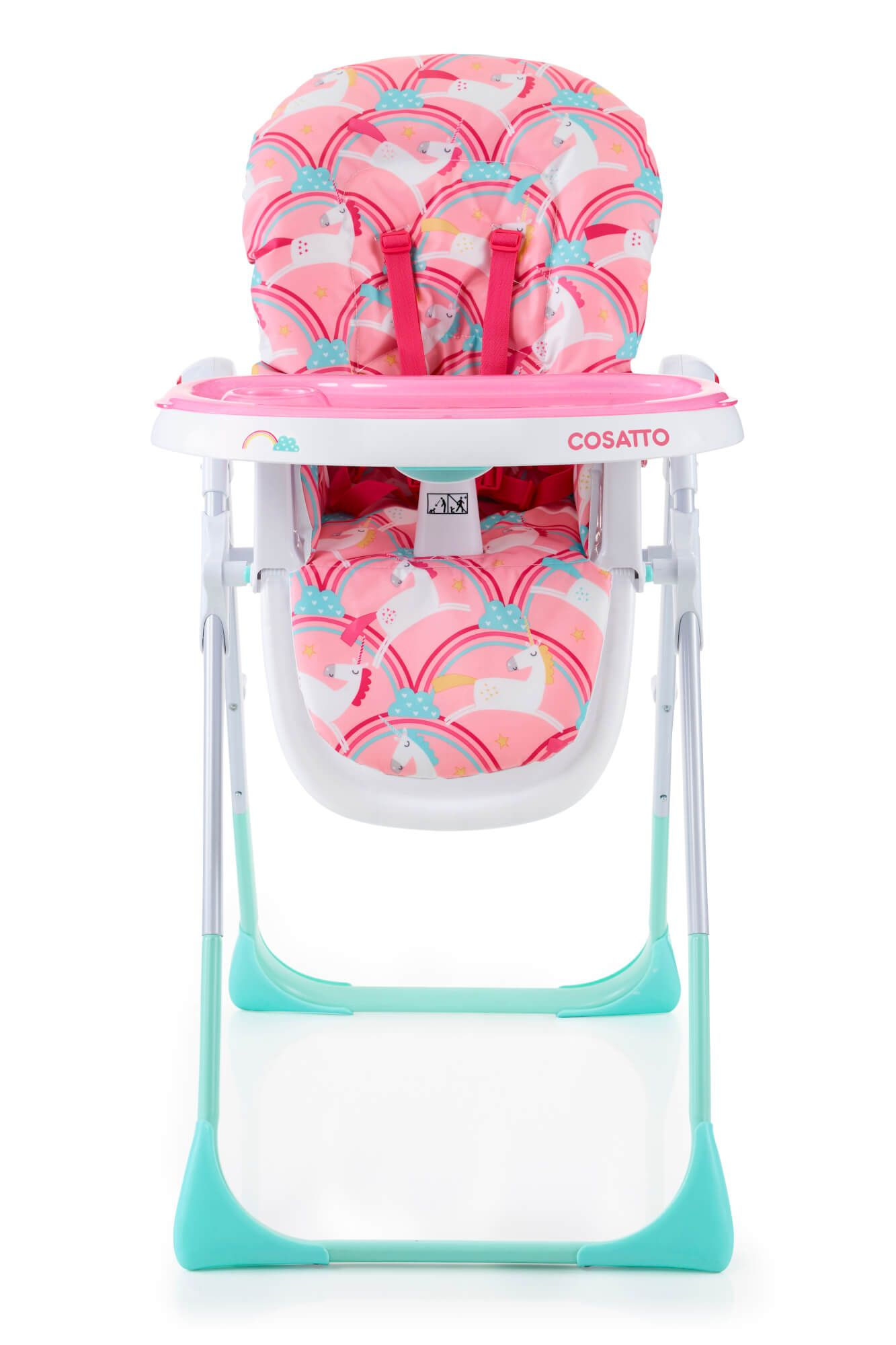 It S Highchair Vs Food And Cosatto S Noodle Supa Magic Unicorns Wins Trays Down With Easy Clean Helpful Ways Baby Equipment Baby Doll Accessories Baby Unicorn