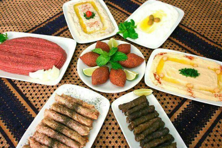 Lebanon السفرة اللبنانية تشكيلة مقبلات