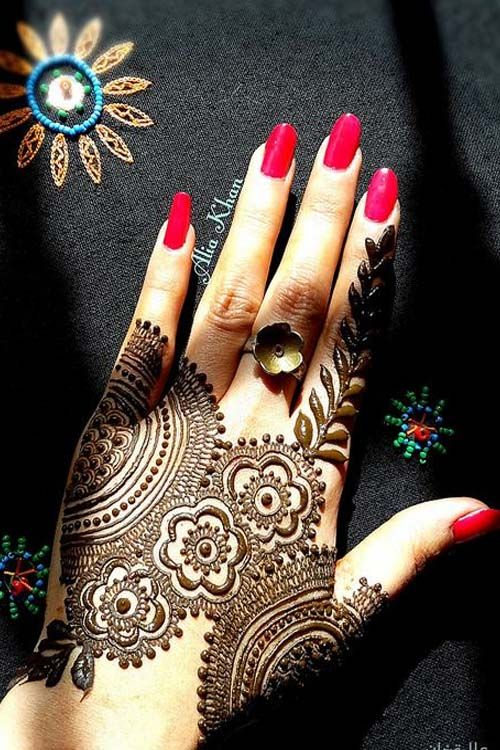 Lovely Henna Designs That Are Easy To Repeat: Beautiful Henna Design 2017 …
