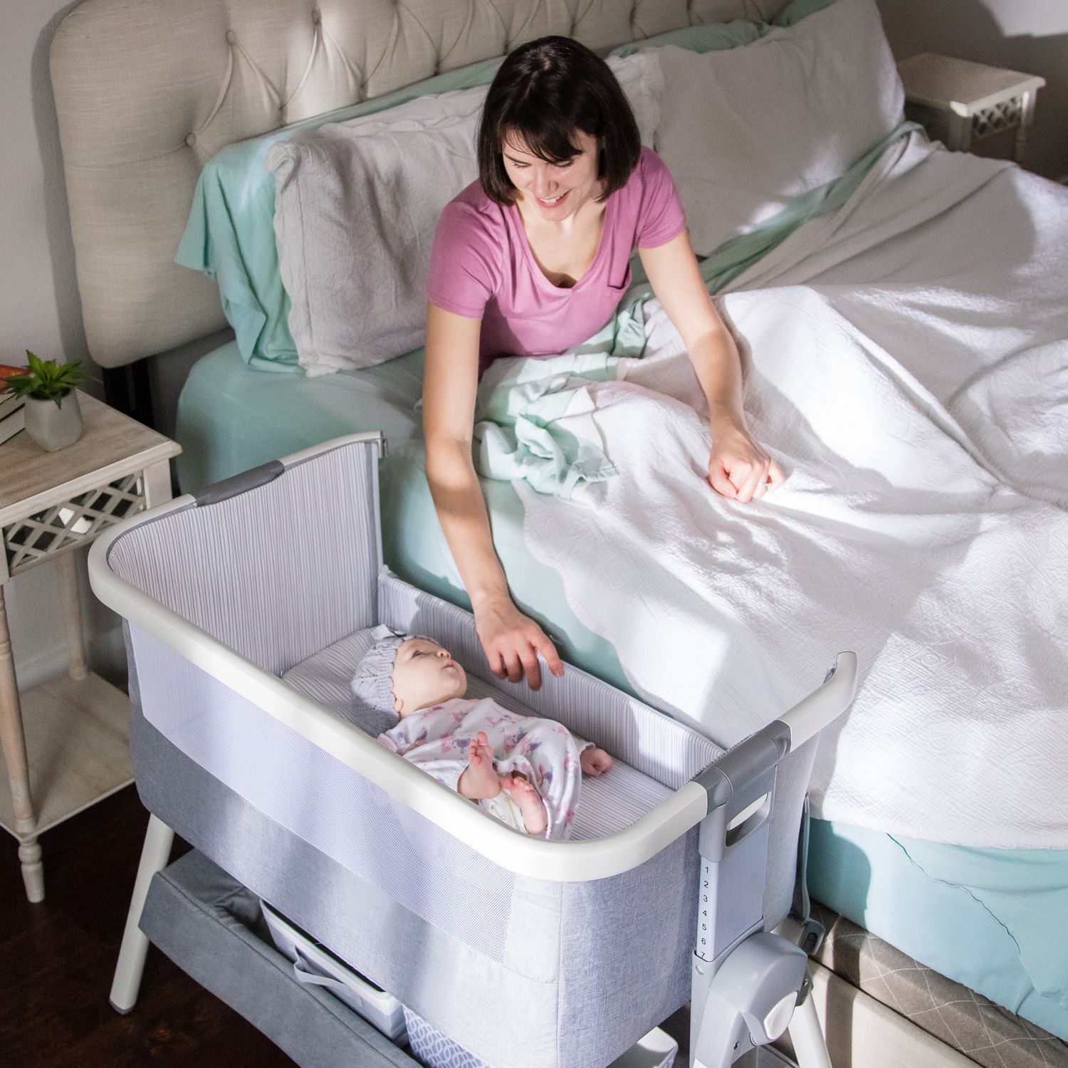 Co Sleeping & Bed Side Crib For Baby in 2020 Co