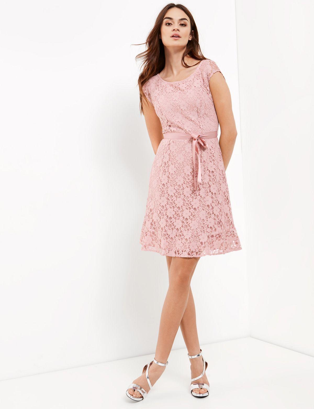 0f801bbe506cd2 TAIFUN Kleid Langarm kurz »Spitzenkleid«