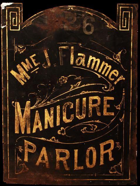 Manicure Parlor Sign