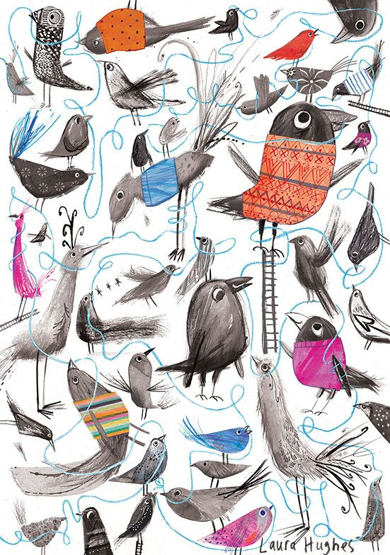 Laura Hughes, Birds and Wool