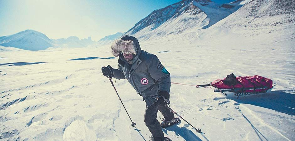 canada goose for skiing