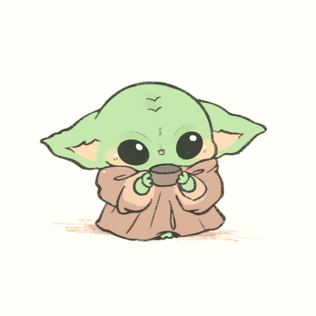 Pin By Ricardo Rodd On Gg In 2021 Cute Cartoon Wallpapers Cute Drawings Yoda Drawing