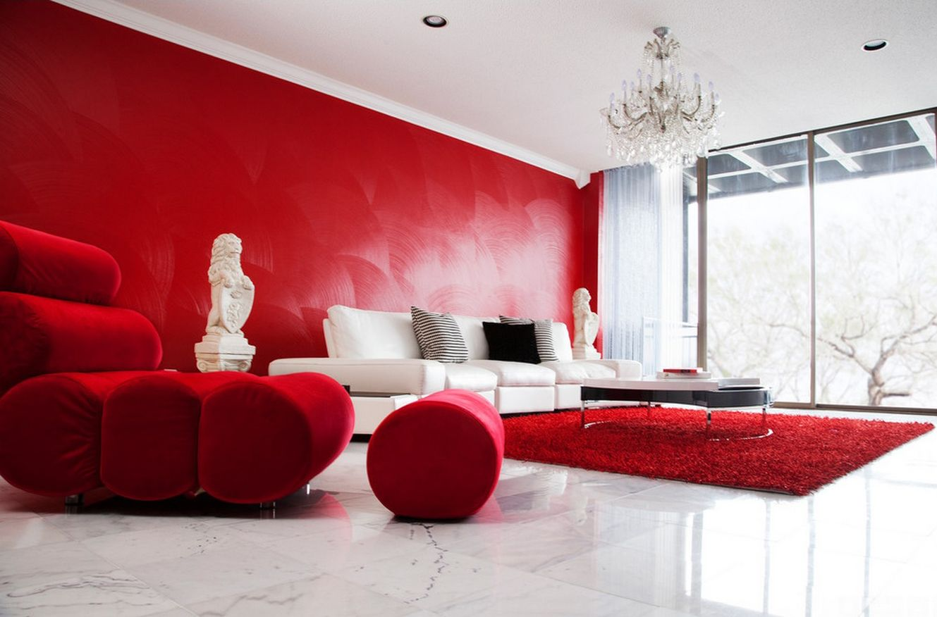 Red Room Designed By A Previous Zuri Designer: Dinah Capshaw (Current  Contact: Https