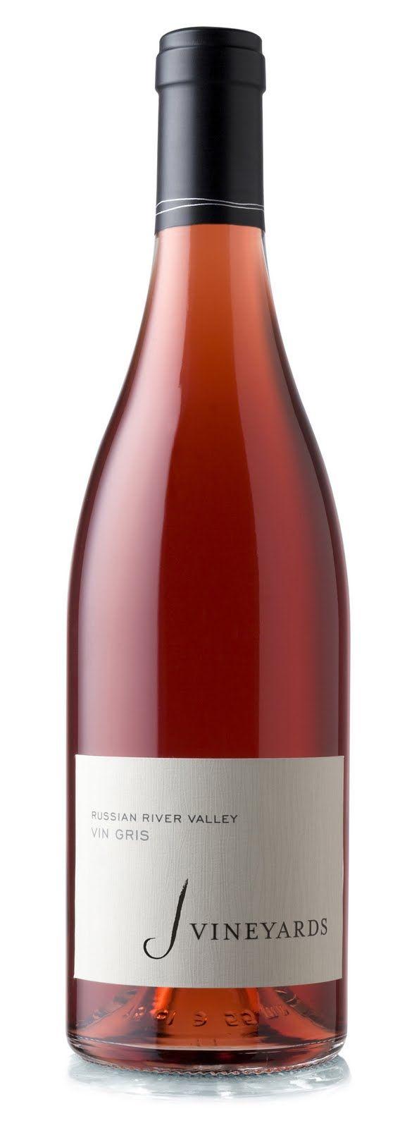 Pretty In Pink 2012 J Winery Vin Gris Bottling Strawberryaroma Vingris Prettyinpink Pink Sparkling J Russian River Valley Wine Bottle Rose Wine Bottle