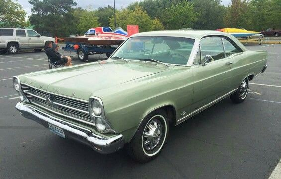 1966 Ford Fairlane 500 Xl 2 Door Hardtop With Images Ford