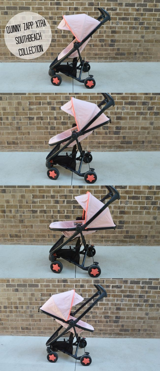 Quinny zapp xtra stroller from the South Beach collection