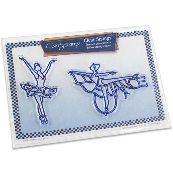 Found it at Blitsy - Claritystamp Stamp Set - Elegance & Grace Ballerinas