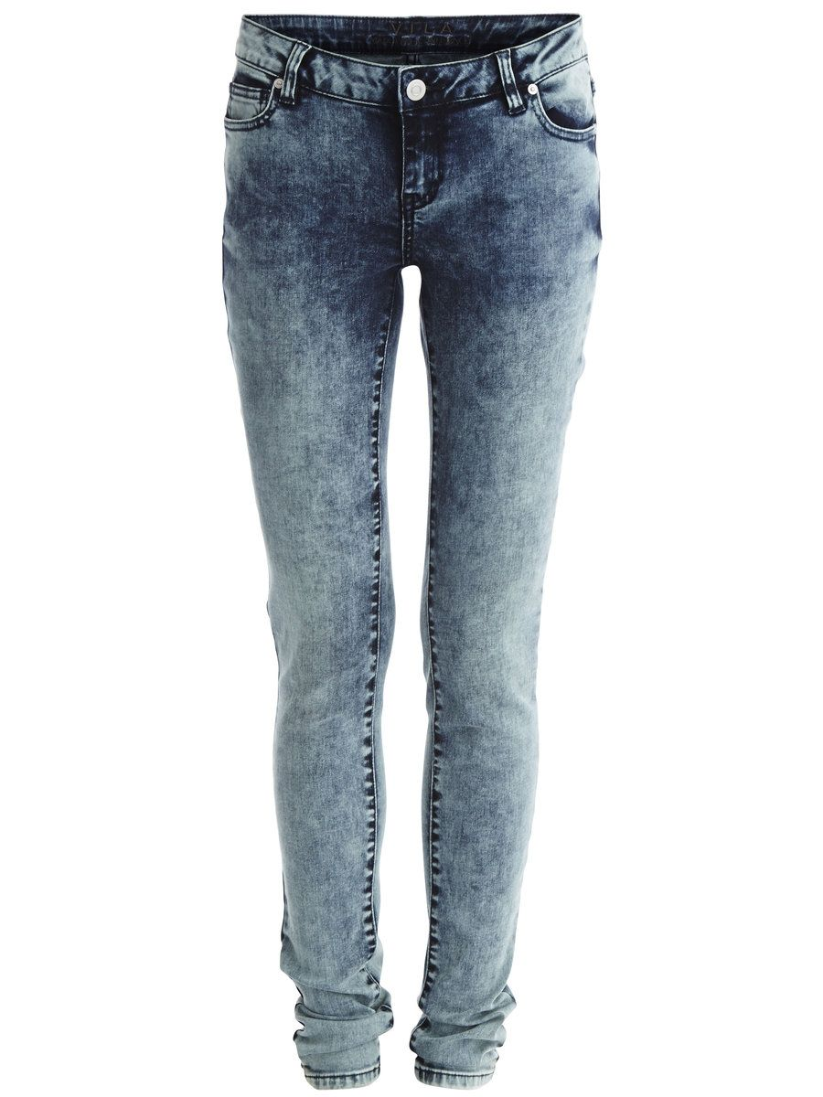 VILUCY - SKINNY FIT JEANS, Medium Blue Denim | style | Pinterest | Skinny  fit jeans, Blue denim and Skinny