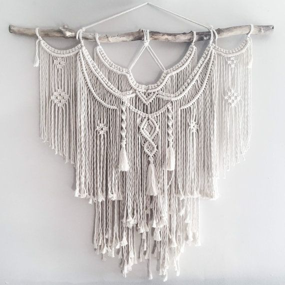 """The Dope Rope Large 44"""" Macrame Wall Hanging // tapestry ..."""