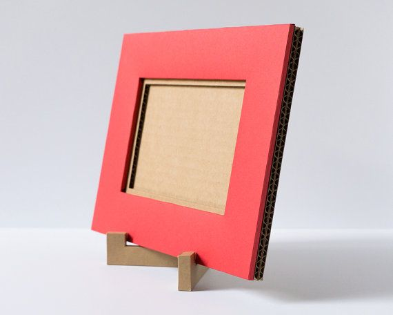4x6 Cardboard Picture Frame, Large Picture Frame, Red Photo Frame ...