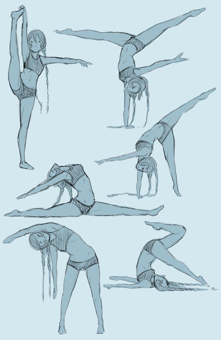 Site theme Gymnastics female anatomy poses can