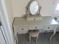 sports shoes c6441 369e3 Laura Ashley Dressing Table With Mirror And Stool (good ...