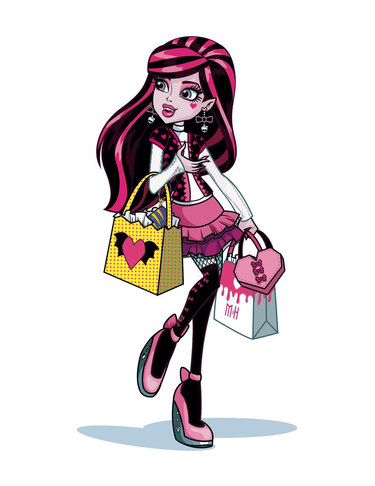 Monsterhigh Draculaura Cartoon