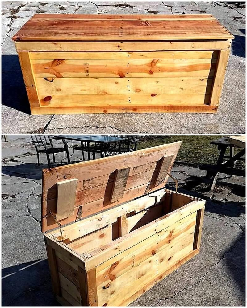 some great ideas of wood pallets recycling with images on extraordinary ideas for old used dumped pallets wood id=61979
