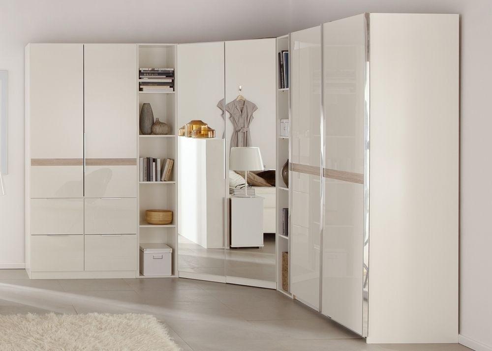 Schlafzimmerschrank Weiß ~ Eckkleiderschrank weiß hochglanz flamencon