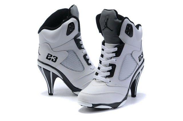 nike air jordan high heels boots
