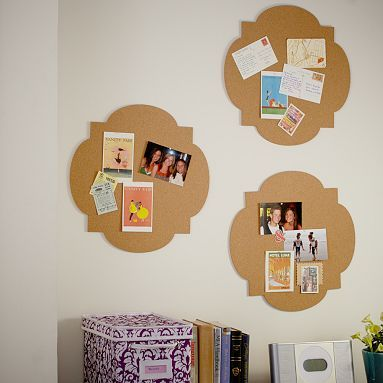 Clover Shaped Corkboards $25 each, comes with 3M mounting